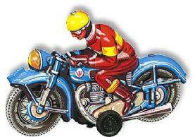 Motorbike Blue